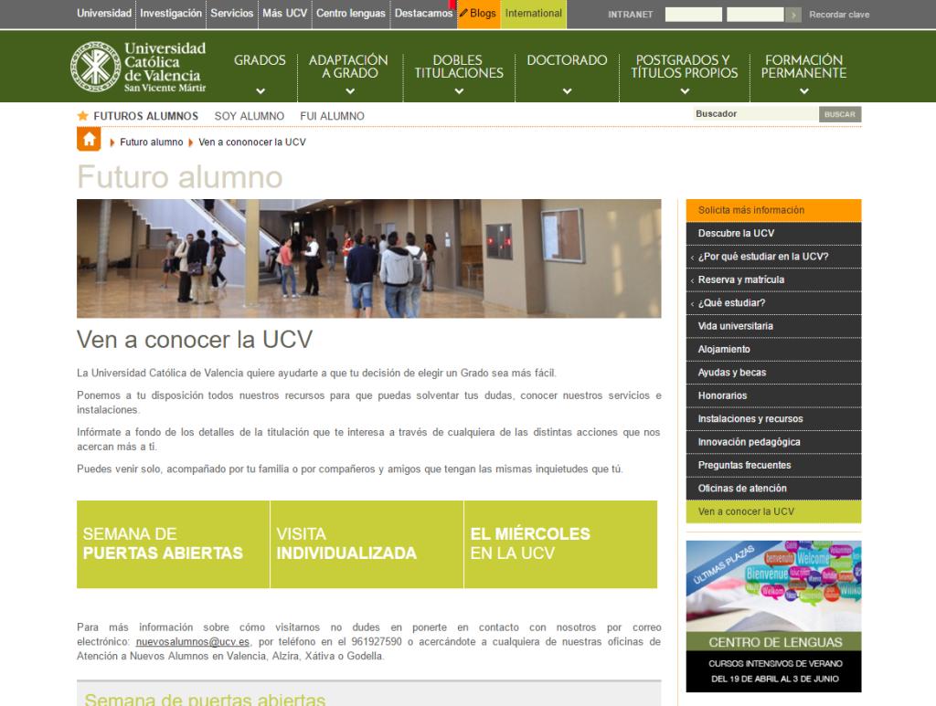 UCV_grados_postgrados_universitarios_valencia